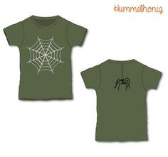 Bügelbild Spinnennetz (individualisierbar) |