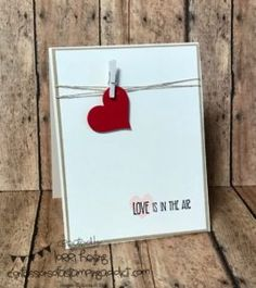 Sweet Simple Valentine | Confessions of a Stamping Addict | Bloglovin'