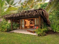 Tokoriki Island Resort - Sepulveda Boulevard,Westchester: Seven-Day, Five-Night Stay Including Airfare at the Tokoriki Island Resort in Fiji Surf Shack, Beach Shack, Bamboo House Design, Hut House, House Roof, Jungle House, Farm Stay, Beach Bungalows, Island Resort
