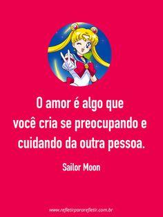 Frase do anime Sailor Moon Sailor Moon S, Sailor Moon Wallpaper, Anime, Memes, Rap, Geek Stuff, Romance, Cartoon, Thoughts