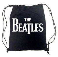 BEATLES LOGO DRAWSTRING BAG [1923] - $16.50 : Beatles Gifts, The Fest for Beatles Fans