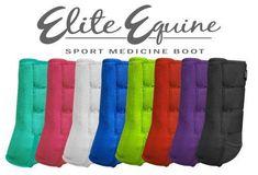 Showman Elite Equine Sport Medicine Boot
