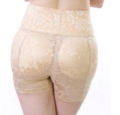 6c6c24b44 Women High Waist Padding Pants Hip Push Up Underwear Abundant Buttocks Bum  Padded Girdle Tights Belt Butt lifter Enhancer