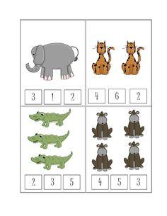Preschool Printables: Free Safari Printable