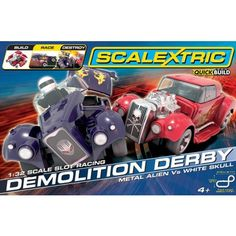 Scalextric Demolition Derby Set - Metal Alien Vs White Skull - £99.99