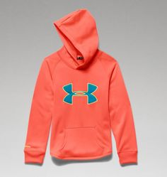 under armour youth hoodie. youth girls\u0027 under armour storm rival hoodie y