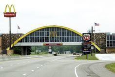 Memories of childhood road trips. Oklahoma McDonalds
