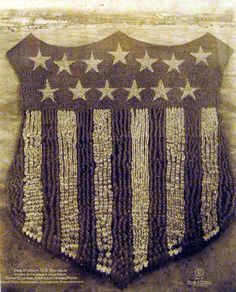 A giant man-made U.S. Shield was made using 30,000 people at Camp Custer, 1918  As a way to boost patriotism and make Americans feel better about themselves, British Photographer , Arthur Mole, took this iconic photos using 30,000 officers and men at Camp Custer in Michigan. Using a 70ft tower that was constructed at the site of many different pictures Mole did at various military bases after WWI.