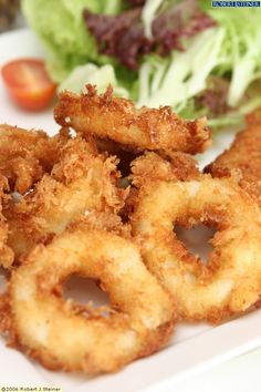 deep fried squid recipes | Deep Fried Calamari