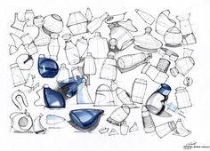 Sketch study at SKEREN 2009 by Ryu Sihyeong, via Behance.