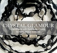 Think's Crystal Glamour Range is inspired by Hollywood Glamour icons. Delicately handcrafted to achieve unique aesthetics, each piece is constructed with Swarovski Crystal and woven silk threads, to suit the best of occasions.