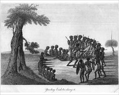 An poster sized print, approx (other products available) - circa An engraving by J Meagle of aboriginals dancing in a semi-circle entitled & (Photo by Hulton Archive/Getty Images) - Image supplied by Fine Art Storehouse - Poster printed in Australia Aboriginal History, Aboriginal Culture, Aboriginal Art, Fine Art Prints, Framed Prints, Canvas Prints, Heritage Image, Body Painting, Photo Greeting Cards