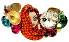 Jessica Rabbit jewelry by Wendy Gell - http://www.imnotbad.com/2011/06/exclusive-jessica-rabbit-artist.html