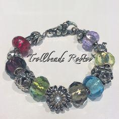 "Серебряный браслет ""Trollbeads"" в ТРК ""Мегацентр Горизонт"" #trollbeads #beads #bracelet #silver #glass #flower #rostov @gorizontmall #beauty #fantasy #воттакаякрасота"