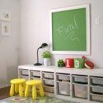Are you looking for kids room furniture ikea style? perhaps ikea trofast storage playroom ideas posted at kidsroomfurniture. Ikea Kids Playroom, Playroom Storage, Playroom Design, Playroom Ideas, Playroom Paint, Bedroom Storage, Ikea Storage Kids, Ikea Design, Nursery Storage