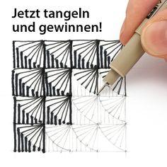 Step-By-Step Zentangle Pattern Zentangle Drawings, Doodles Zentangles, Zentangle Patterns, Doodle Drawings, Doodle Art, Easy Zentangle, Zen Doodle Patterns, Tangle Doodle, Tangle Art