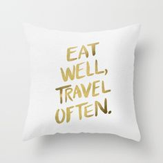 Shop for typography pillows and adorn your home with both style and comfort. Choose from unlimited designs by thousands of artists from around the world. Worldwide shipping available at Society6.com.