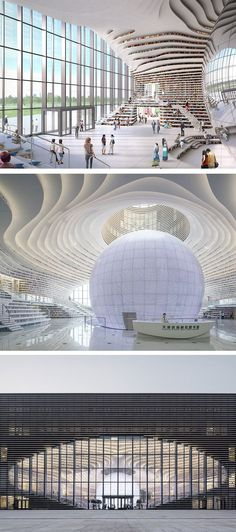 MVRDV have designed a spectacular new Tianjin Binhai Library located in the Binhai Cultural District, China. Read about Tjanin here https://whattodoinguide.com/tianjin-16-things-youve-got-see/