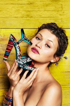 Desigual Pam heels