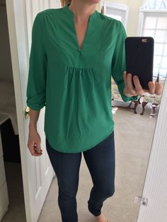 That Certain Something Dark Green Top in 2019  5470e6ab4