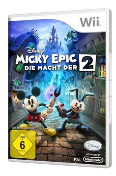 Disney Micky Epic - Die Macht der 2: Nintendo Wii: Amazon.de: Games