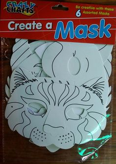 Create a mask - KidsnCrafts Online Store Craft Projects For Kids, Crafts For Kids, Create, Store, Crafts For Children, Kids Arts And Crafts, Larger, Kid Crafts, Shop