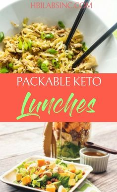 Take your keto diet with you on the go with the best packable keto lunches so you can stay on track with your weight loss and healthy living. Healthy Meals To Cook, Healthy Low Carb Recipes, Ketogenic Recipes, Healthy Dinner Recipes, Diet Recipes, Healthy Snacks, Keto Foods, Ketogenic Diet, Crockpot Recipes