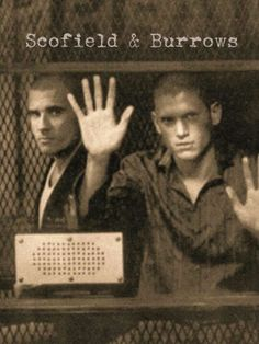 Prison Break - Burrows and Scofield Best Tv Series Ever, Best Shows Ever, Captain Cold And Heatwave, Prison Break 5, Michael Schofield, Wentworth Miller Prison Break, Michael And Sara, Dominic Purcell, Addicted Series