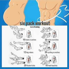 "1,100 Me gusta, 7 comentarios - GYM EDUCATION (@gym.education) en Instagram: ""Six pack workouts"""