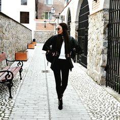 #fringe #leather #jacket  From @ L'armario Fringe Leather Jacket, Jackets, Down Jackets, Jacket