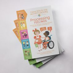 Coping Skills for Kids Activity Books: Processing Feelings Anger Coping Skills, Coping Strategies For Stress, Kids Activity Books, Activities For Kids, Parent Coaching, Counseling Activities, School Fun, The Book, Elementary Schools