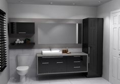 Our portfolio shows you dozens of kitchen and bathroom models. Enough to give you inspiration to create your own space! Bathroom Toilets, Bathroom Renos, Bathroom Furniture, Bathroom Interior, Modern Bathroom, Beautiful Small Bathrooms, Kitchen Pantry Storage, Bathroom Accessories Luxury, Feature Tiles