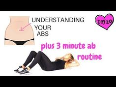 Find out the only way to lose belly fat - 3 minute ab workout Ultimate Ab Workout, Great Ab Workouts, Effective Ab Workouts, Lower Ab Workouts, Abs Workout Routines, Workout Videos, Elliptical Workouts, Walking Workouts, Workout Plans