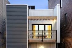 C3 prefab housing system. C3, which stands for 'Cube, Copy, Cut', is designed for a middle-income budget on an urban infill lot