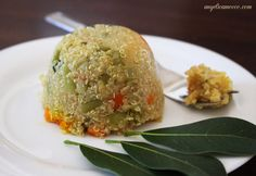 Quinoa con verdure - vegan