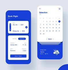 Air Tickets Design by Yumenglati for Top Pick Gfx Design, App Ui Design, Interface Design, Best App Design, Flat Design, Application Mobile, Application Design, Design Thinking, Ui Design Mobile