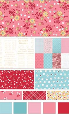 Calico Days fabric line by Lori Holt for Riley Blake Designs—Subscribe to our newsletter at http://www.rileyblakedesigns.com/newsletter/