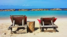 Curacao, Mambo beach Outdoor Chairs, Outdoor Decor, Holiday Wishes, Places Ive Been, Caribbean, Places To Visit, Ocean, Island, Spaces