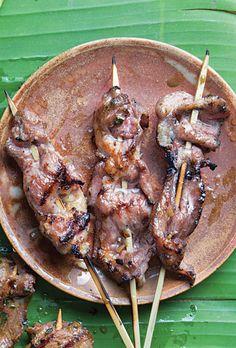 Lemongrass Pork Satay  Jean-Georges Vongerichten uses pork shoulder for this umami-packed satay