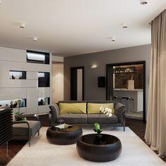 Contemporary Living Room Designs by Fedorova43
