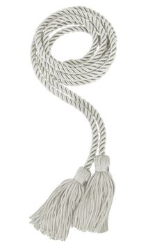 Our traditional Silver Honor Cord will make you look the best and feel be comfortable in any setting. Tailored in high quality fabric and produced in many sizes it is sure to make you look your best on your graduation day. Graduation Honor Cords, Graduation Day, Honor Society, Hunter Green, Antique Gold, Silver Color, Pink Roses, All The Colors, Tassel Necklace