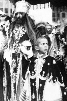 HAILE SELASSIE I AND SON