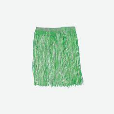 Kiddie Artificial Green Grass Hula Skirts - OrientalTrading.com
