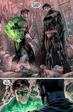 I love when Geoff Johns and Jim Lee work together...
