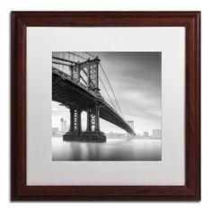 'Manhattan Bridge I' by Moises Levy Framed Photographic Print