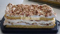 Christmas Tree Farm, Pavlova, Dessert Recipes, Desserts, No Bake Cake, Vanilla Cake, Food Videos, Tiramisu, Snacks