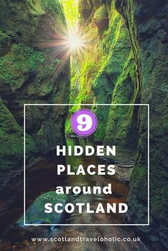 Ultimate Scottish hidden places checklist. Most amazing hidden gems you still missing out on, all in one place. Look no further.
