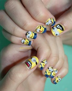 The Minion nails! I have to do this and show my dad, it's his favorite movie