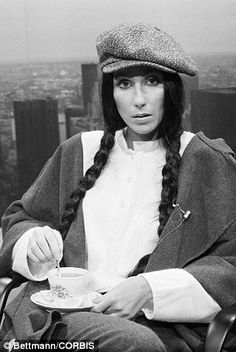 Cher. 23 Sep 1977 TEATIME | TEALOVER | COLOURSTORIES  | TEACUPS and TEAPOTS |  pinned by http://www.cupkes.com/