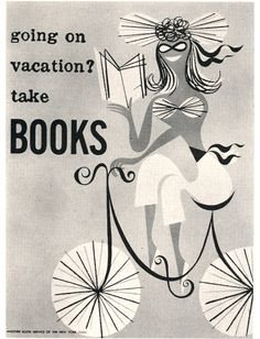 Going on vacation? Take books.